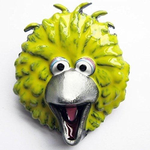 Fibbia Big Bird di Sesame Street, giallo - Fibbia