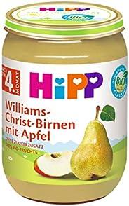 HiPP Früchte Williams-Christ-Birnen mit Apfel, 6er Pack (6 x 190 g)