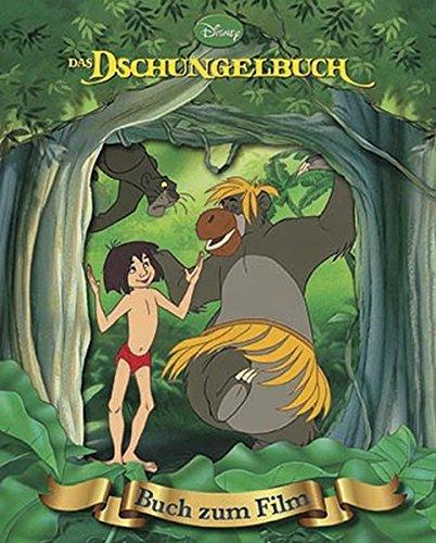 dschungelbuch buch Das Dschungelbuch: Das Buch zum Film mit magischem 3D-Cover