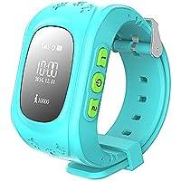 Gangang Tracker GPS pour enfants, Smartwatch anti-errance, appel SOS, Détecteur d'enfants imperméable, traçage en temps…