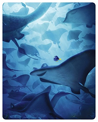 Findet Dorie 3D (2016) (Limited Edition, Steelbook, Blu-ray 3D + 2 Blu-rays)