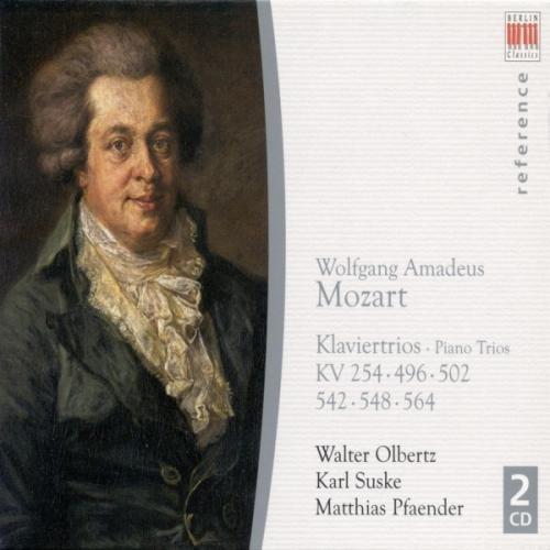 Mozart:Klaviertrios