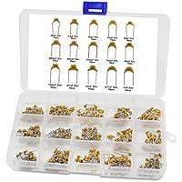 Cerámica Condensador, iceblueor 15Valor condensador electrolítico Surtido Kit con caja de plástico gama de cerámica 450pcs 10pF  100nf