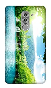 WOW Printed Designer Mobile Case Back Cover For Huawei Honor 6X