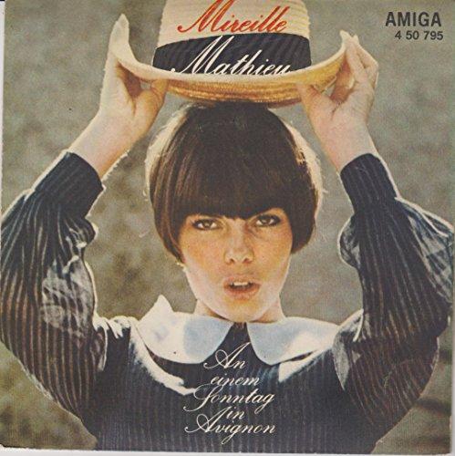 Mireille Mathieu - An Einem Sonntag In Avignon / Au Revoir, Mon Amour - AMIGA - 4 50 795 -