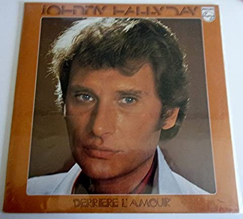 Johnny Hallyday: Derriere l'amour,Vinyle stereo LP 33 tours 1976 Philips 9101064