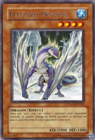 Yu-Gi-Oh! - Blizzard Dragon (DLG1-EN101) - Dark Legends - Unlimited Edition -... - Blizzard Yugioh