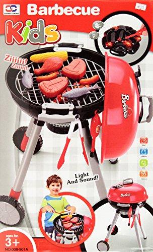 Kugelgrill Griller für Kinder Grill mit Licht Sound und viel Zubehör