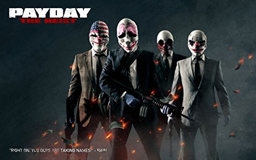 payday-2-customized-22x14-inch-silk-print-poster-affiche-en-soie-wallpaper-great-gift