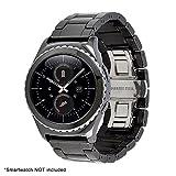 hahuha Watch  Armband, Geschäfts-Luxuskeramik-Uhrenarmband-Bügel-Armband für Samsung-Gang S2 Klassiker