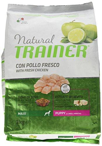 Natural Trainer Trainer Natural Maxi Puppy kg. 3 Cibo Secco per Cani, Multicolore, Unica