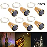 Wine Bottles String Lights,15 LED 1.5 Meter for Wedding Christmas, Outdoor, Holiday, Garden, Patio Pathway Decor (Three Colors:Warm White/White/Multicolor)