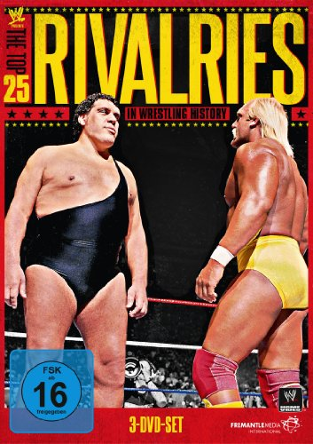 WWE Presents the Top 25 Rivalries in Wrestling History [3 DVDs] (Wwe Wrestling Dvds)
