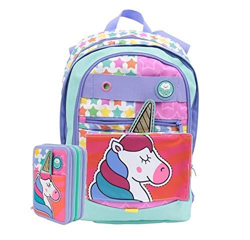 Schoolpack zaino gopop unicorno dreamer 5 in 1 + astuccio completo + gadget
