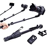 #10: Credence Retractable Handheld Monopod Holder Selfie Stick for Camera & Smartphones