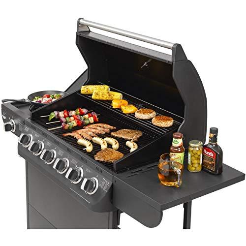 Gasgrill Columbus 6+1 Brenner von EL Fuego® Grill BBQ Grillwagen Gasgrillwagen Barbecue AY 564