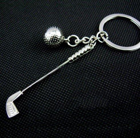 Schlüsselanhänger Golfschläger mit Ball Golf