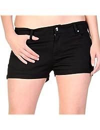 Amazon.fr   Banned - Shorts et bermudas   Femme   Vêtements ff20f7669d8