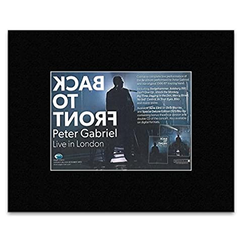 PETER GABRIEL - Live In London 2014 Matted Mini Poster - 13.5x21cm