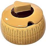 PARMIGIANO REGGIANO Formaggiera classica in ceramica con cucchiaino