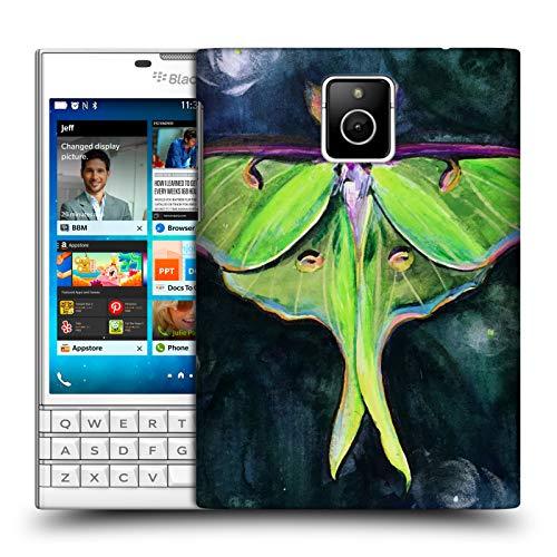 Head Case Designs Offizielle Mai Autumn Luna Motte Tiere Ruckseite Hülle für BlackBerry Passport