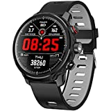 OPTA-SB-102 Stratos Bluetooth Fitness Watch  HR Monitor  Mini Flash Light   Multi-Sport Mode  Intelligent Alerts  Full Touch Screen  Color Display Fitness Tracker for All Android/iOS