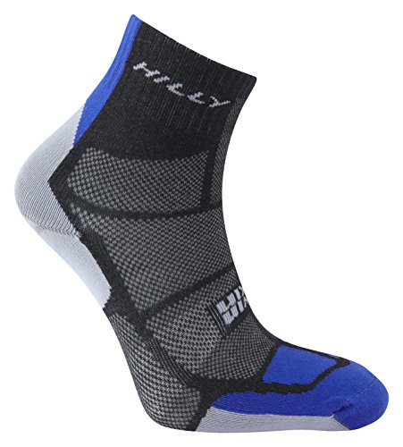 hilly-mens-twin-skin-anklet-running-socks-black-electric-blue-grey-large