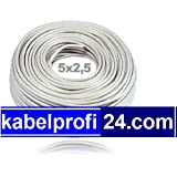 Mantelleitung NYM-J 5x2,5mm² -25m Ring - NYMJ