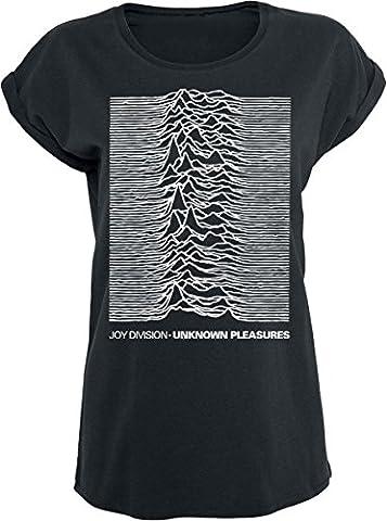 Joy Division Unknown Pleasures Girl-Shirt schwarz M