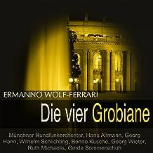 """Die vier Grobiane, Act III: Finale. """"Da schaut her, wie sie zerknirscht sind"""" (Felice, Lunardo, Cancian, Marina, Filipeto, Maurizio)"""