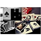 Madison Rounders Playing Cards Black
