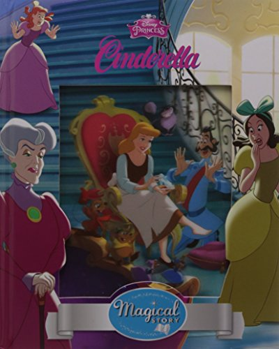 Disney Princess Cinderella Magical Story with Lenticular