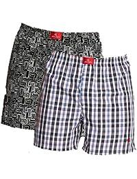 Jockey Men's Printed Boxer Shorts (Pack of 2)