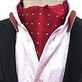 YiyiLai 117×15.5CM Geblümt Herren Männer Anzug Halstuch Krawatte Taschentuch Einstecktuch Form-15