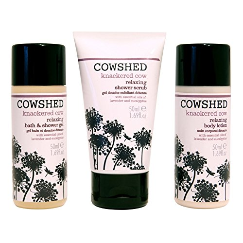 Cowshed Knackered Cow Discovery Bath Set