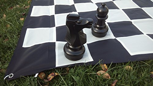 SchachQueen-Freilandspiel-Gartenschach-Grofeldschach-maschinenwaschbar-Brett-MAXI-FG-32-cm