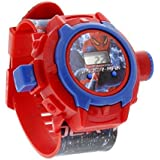 The Flyers Bay Spiderman Unique 24 Images Projector Digital Toy Watch for Kids - Good Return Gift - Enjoy with 24 Image Projector