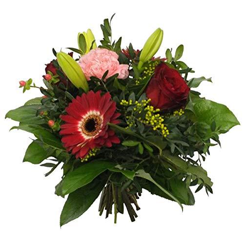 VERSANDKOSTENFREI Blumenstrauß 1000 Dank Muttertag mit Handgeschriebener Karte Blumenversand
