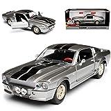 alles-meine.de GmbH Ford Shelby Mustang GT500 Eleanor Nur Noch 60 Sekunden 1/24 Greenlight Modell Auto mit individiuellem Wunschkennzeichen