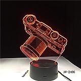 3d 3d kamera usb led lampe dekoration hause kinder schlaf 7 farbwechsel nachtlicht illusion schlafzimmer tisch schreibtischlampe geschenk han-7091