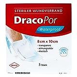 Dracopor waterproof Wundverband steril 8x10cm 5 stk