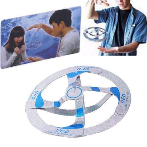 Preisvergleich Produktbild Amazing Mystery UFO Floating Flying Disk Saucer Magic Cool Trick Toy Magic Toys