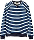 Scotch & Soda Jungen Sweatshirt Garment Dyed Crew Neck Sweat, Mehrfarbig (Combo C 219), 140 (Herstellergröße: 10)