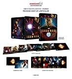 IRON MAN [3D Blu-ray+2D Blu-ray KIMCHIDVD Steelbook Lenticular Slip Edition; Sold Out; Kimchi Exclusive]