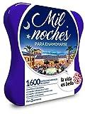 LA VIDA ES BELLA - Caja Regalo - MIL NOCHES PARA ENAMORARSE - 1520 hoteles románticos 5* en España, Bélgica, Italia, Francia y Portugal