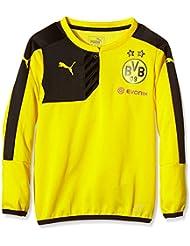 Puma Sweat-shirt à capuche pour enfant BVB Training Sweat Sponsor