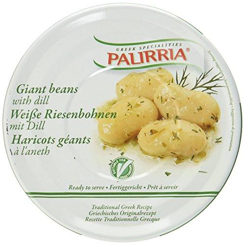 Palirria Weiße Riesenbohnen mit Dill, 3er Pack (3 x 280 g)