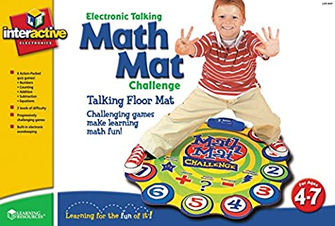 Learning Resources Math Mat Challenge Addition & Subtraction