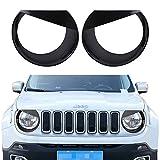 Opar Black Angry Bird Headlight Bezels Cover