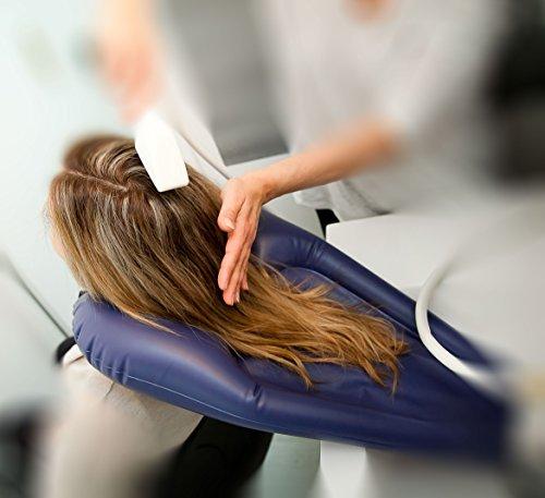 Bassin gonflable pour laver les cheveux au lavabo